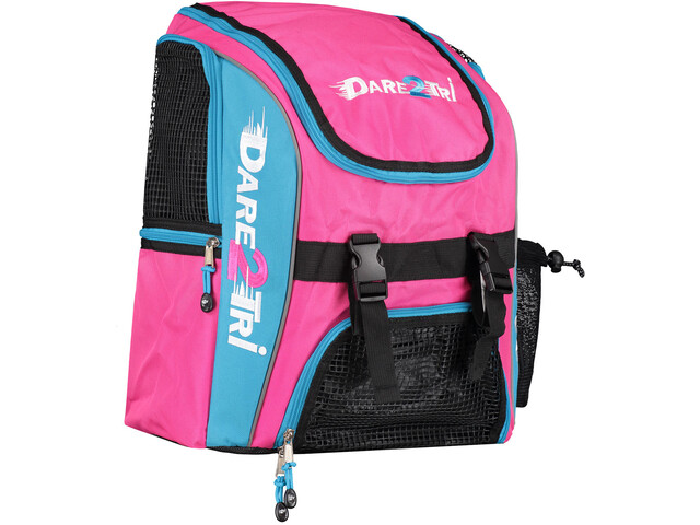 Dare2Tri Transition Backpack 23L pink/blue